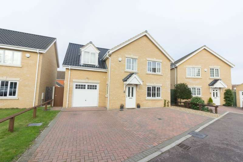 5 Bedrooms Detached House for sale in Applewood Close, Carlton Colville, Lowestoft, NR33