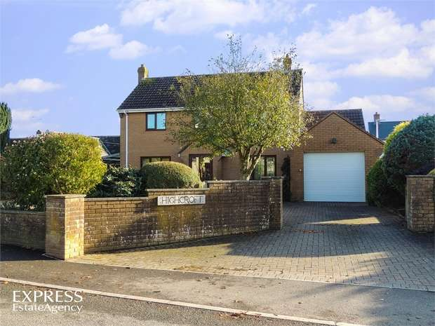 4 Bedrooms Detached House for sale in Leigh Road, Chulmleigh, Devon