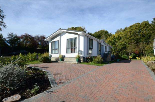 2 Bedrooms Detached Bungalow for sale in Harveys Nurseries Mobile Home Park, Peppard Road, Emmer Green