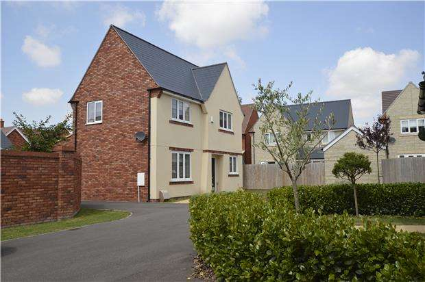 4 Bedrooms Detached House for sale in Armstrong Road, Stoke Orchard, GL52