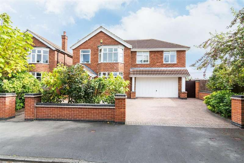 6 Bedrooms Detached House for sale in Brookside Road, Ruddington