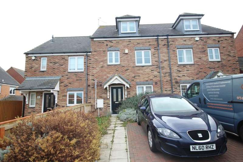 4 Bedrooms Terraced House for sale in Trinity Court, Seaham, SR7