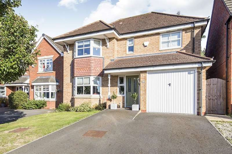 4 Bedrooms Detached House for sale in Brindley Close, Stoney Stanton, Leicester, LE9