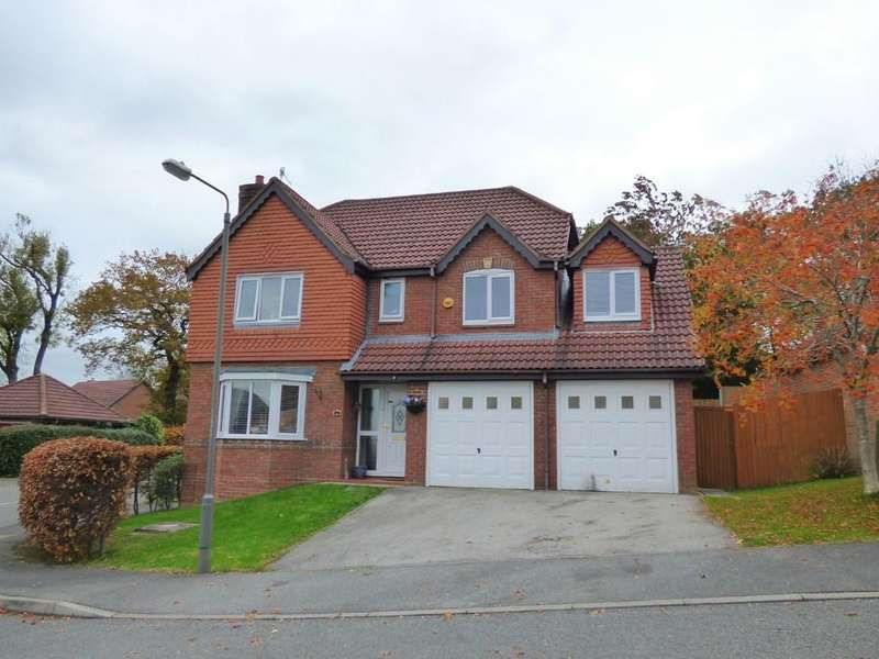 5 Bedrooms Detached House for sale in Clumber Close, Ashbourne