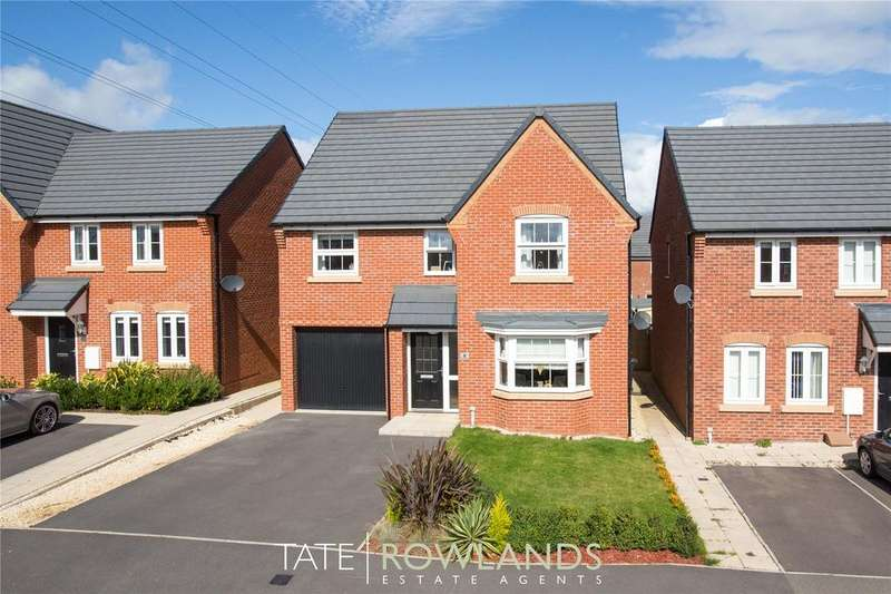 4 Bedrooms Detached House for sale in Ffordd Bate, Wepre, Connahs Quay, Deeside, CH5