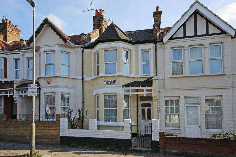 3 Bedrooms Terraced House for sale in Franciscan Road, London