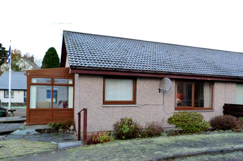 2 Bedrooms Semi Detached House for sale in Manse Road, Kingussie, PH21 1JF