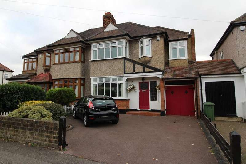 4 Bedrooms Semi Detached House for sale in Southview Drive, Upminster, Essex, RM14