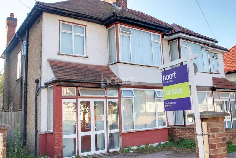 3 Bedrooms Semi Detached House for sale in Peter Avenue, NW10