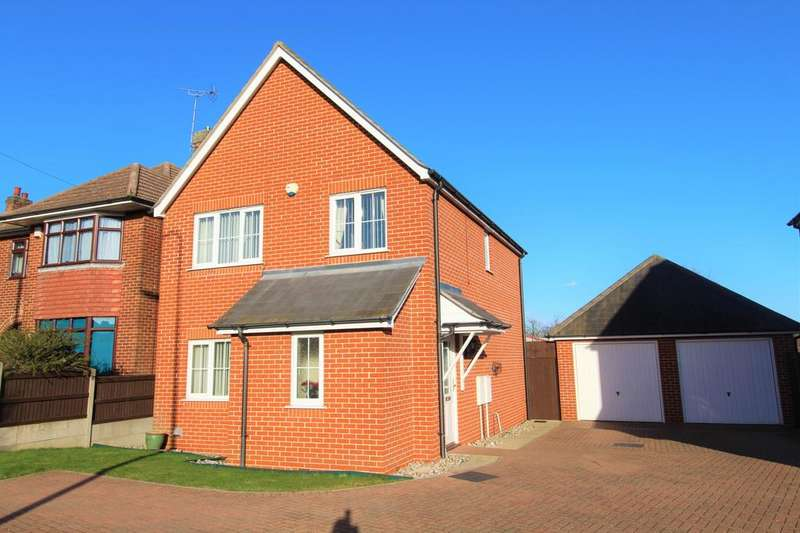 3 Bedrooms Detached House for sale in Old Heath Road, Colchester , CO2
