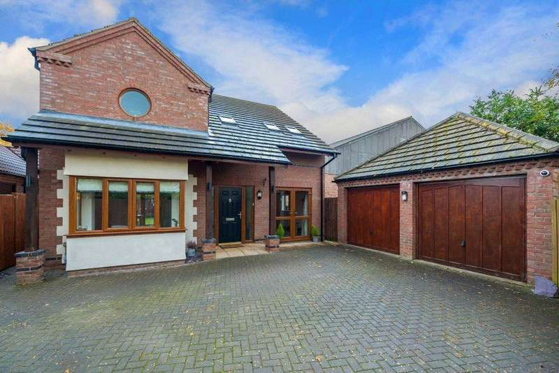 4 Bedrooms Detached House for sale in The Spinney, Twenty, Bourne, Lincolnshire, PE10