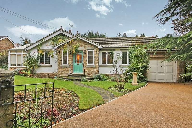 3 Bedrooms Detached Bungalow for sale in Lodge Close, Hamsterley Mill, Rowlands Gill, NE39