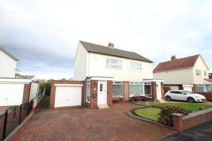 2 Bedrooms Semi Detached House for sale in Fifth Avenue, Stepps