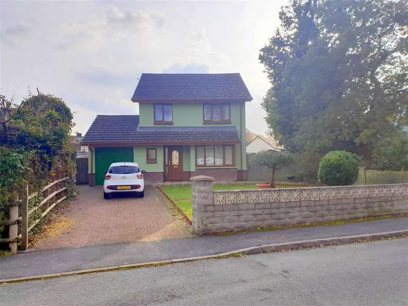 4 Bedrooms Detached House for sale in Trevaughan Lodge Road, Whitland, Carmarthenshire