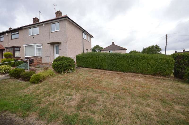 3 Bedrooms Semi Detached House for sale in Bower Farm Road, Old Whittington, Chesterfield, S41 9PS