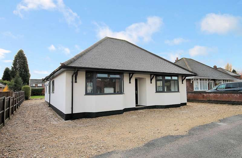 3 Bedrooms Detached Bungalow for sale in Draycott Crescent, Tamworth, B77 1DA