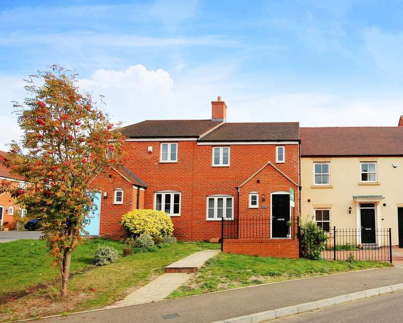 3 Bedrooms Terraced House for sale in Nottingham Close, Ampthill, Bedfordshire, MK45