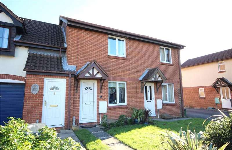 2 Bedrooms Terraced House for sale in Foxcroft Close, Bradley Stoke, Bristol, BS32