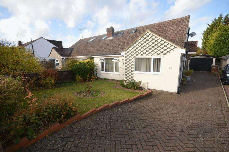 3 Bedrooms Semi Detached Bungalow for sale in The Furrows.