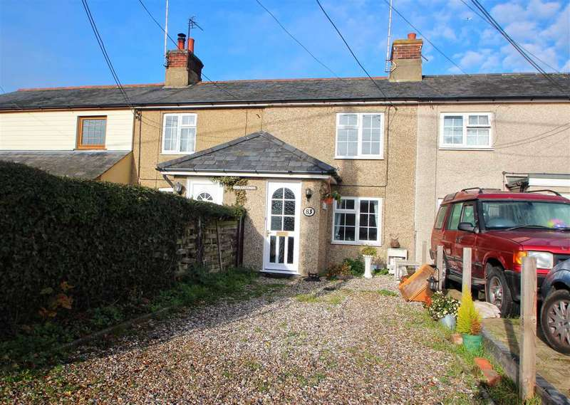 2 Bedrooms Terraced House for sale in Hope Cottages, New Cut, Layer De La Haye, Colchester