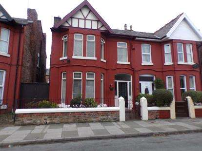 5 Bedrooms Semi Detached House for sale in Birchdale Road, Waterloo, Liverpool, Merseyside, L22