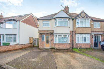 3 Bedrooms Semi Detached House for sale in Leggatts Close, Watford, Hertfordshire, .