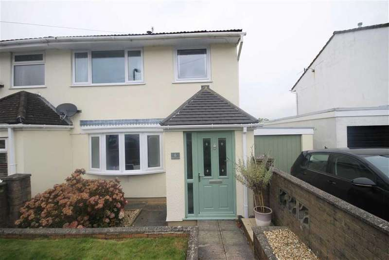3 Bedrooms Semi Detached House for sale in Hawthorn Road, Treharris