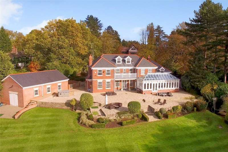 5 Bedrooms Detached House for sale in Heybridge Lane, Prestbury, Cheshire, SK10
