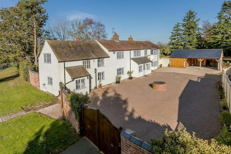 5 Bedrooms Detached House for sale in Frolesworth, Lutterworth, Leicestershire