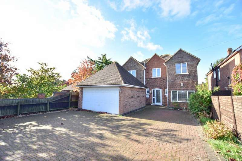 4 Bedrooms Detached House for sale in Barton Road , Barton Seagrave, Kettering