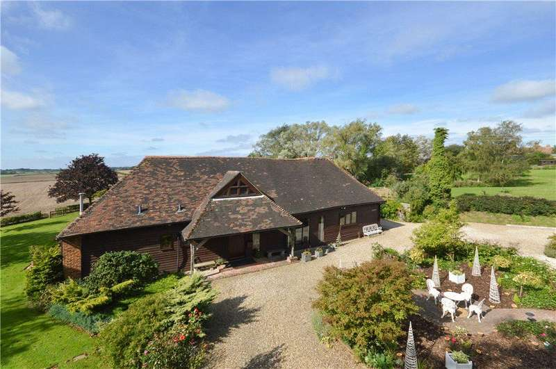 5 Bedrooms Detached House for sale in The Street, East Brabourne, Ashford, Kent