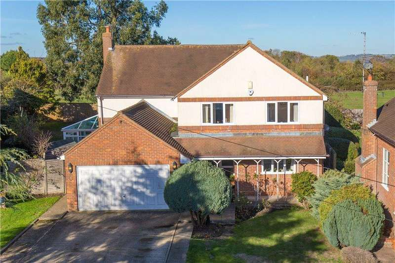 5 Bedrooms Detached House for sale in The Orchards, Oxford Road, Stone, Buckinghamshire
