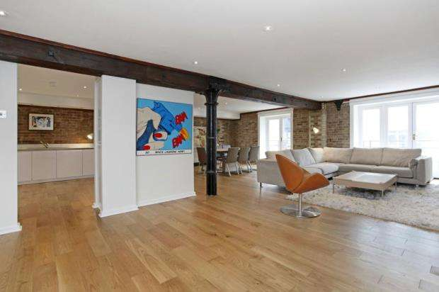 3 Bedrooms Flat for sale in St. Saviours Wharf, 25 Mill Street, London
