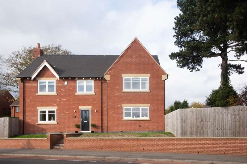 4 Bedrooms Detached House for sale in 93 Christchurch Lane, Lichfield, WS13