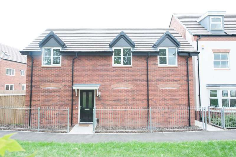1 Bedroom Coach House Flat for sale in St. Martins Close, Birmingham