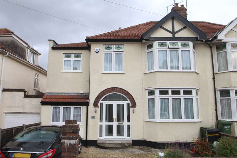 5 Bedrooms Semi Detached House for sale in West Broadway, Henleaze, Bristol BS9 4TB