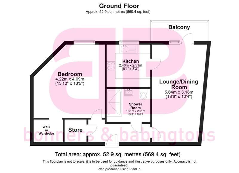 1 Bedroom Apartment Flat for sale in Longwick Road, Princes Risborough