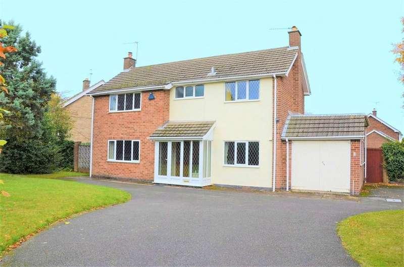 4 Bedrooms Detached House for sale in Abbotts Oak Drive, Coalville, LE67