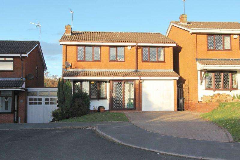 4 Bedrooms Detached House for sale in Badminton Close, Dudley, DY1 2UH
