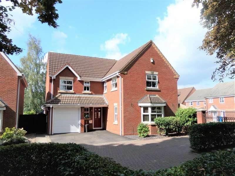 4 Bedrooms Detached House for sale in Sister Dora Avenue, Burntwood