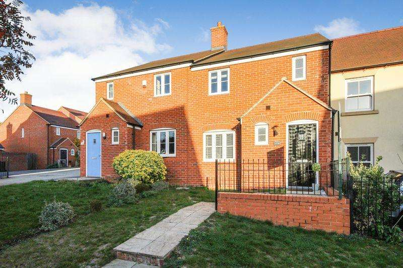 3 Bedrooms Terraced House for sale in Nottingham Close, Ampthill