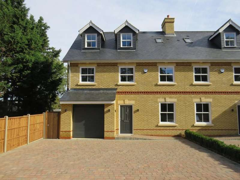 4 Bedrooms Semi Detached House for sale in Hitchin Road, Fairfield, Hitchin, SG5 4JH