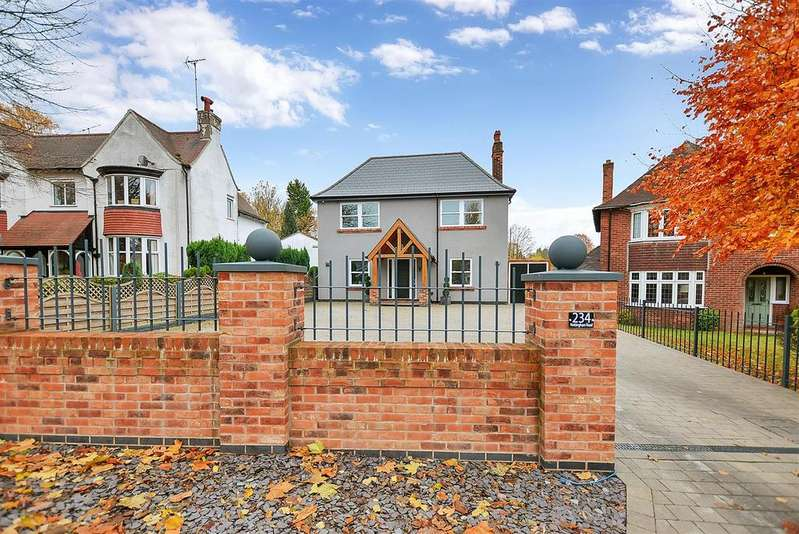 4 Bedrooms Detached House for sale in Nottingham Road, Mansfield