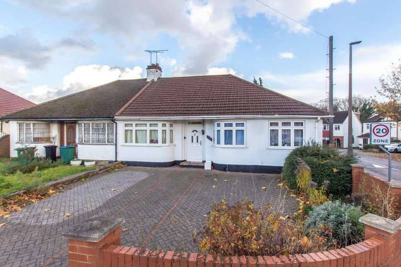 3 Bedrooms Semi Detached Bungalow for sale in Bushey Mill Lane, North Watford
