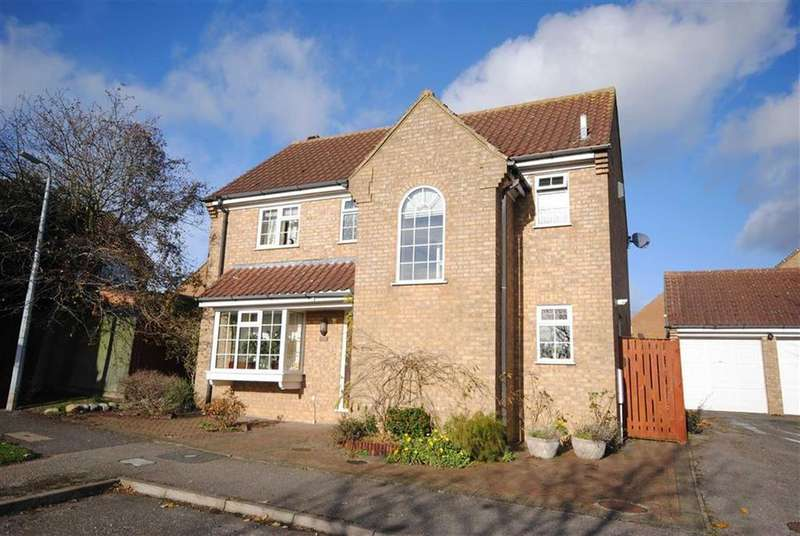 4 Bedrooms Detached House for sale in Fyne Drive, Linslade, Leighton Buzzard