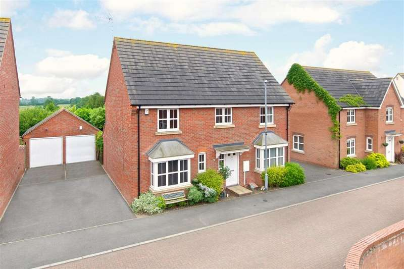 4 Bedrooms Detached House for sale in 12 Masefield Place, Earl Shilton