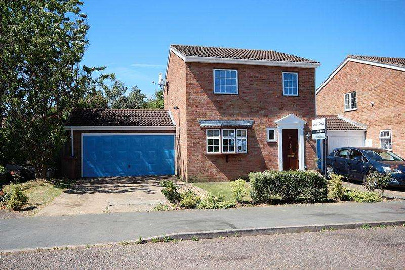 3 Bedrooms Link Detached House for sale in Melford Close, Luton
