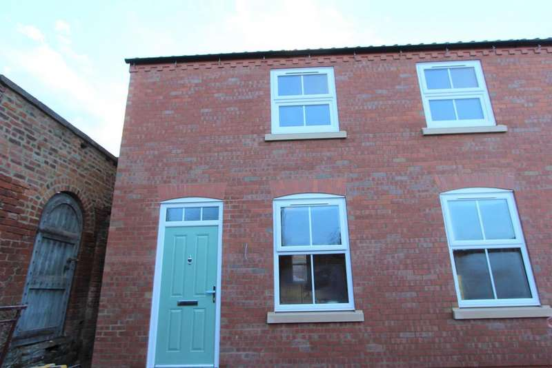 2 Bedrooms End Of Terrace House for sale in The Orchard, Thames Street, Louth, LN11 7AD