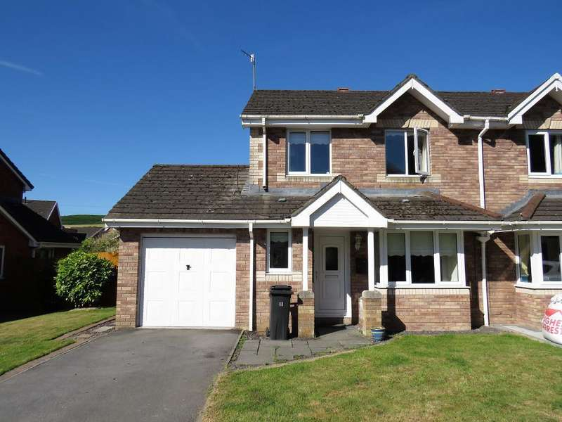 3 Bedrooms Semi Detached House for sale in Forest Grove, Edwardsville, Treharris, CF46 5NG