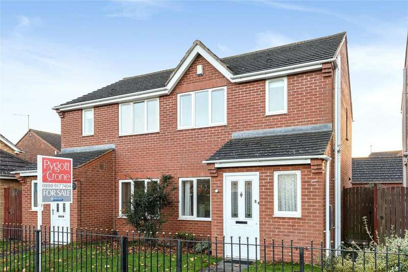 3 Bedrooms Semi Detached House for sale in Woodfield Avenue, Birchwood, LN6
